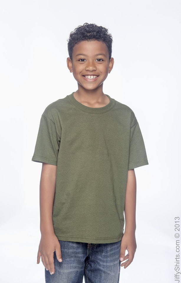 Fruit of the Loom 3931B Military Green