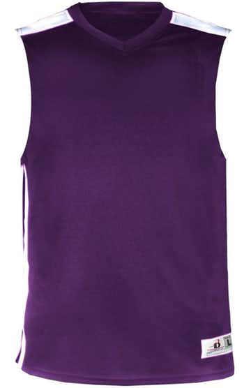 Badger 8948 Purple / White