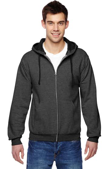 Fruit of the Loom SF73R Charcoal Heather