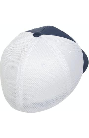 Flexfit 6533 Navy/ White