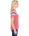 Augusta Sportswear 3011 Red/ Slate/ Wht