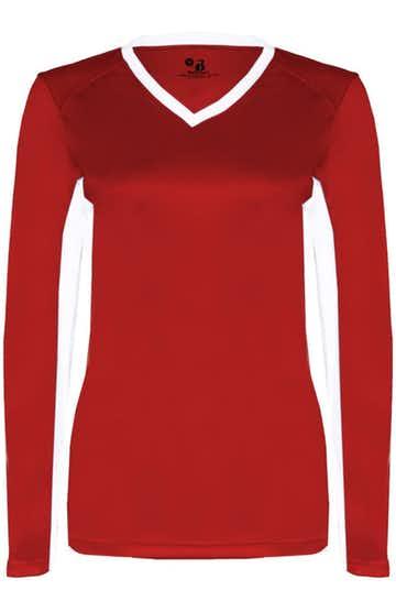 Badger 6164 Red / White
