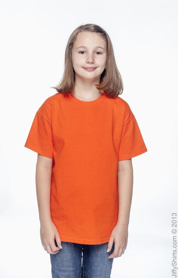 Hanes 54500 Orange