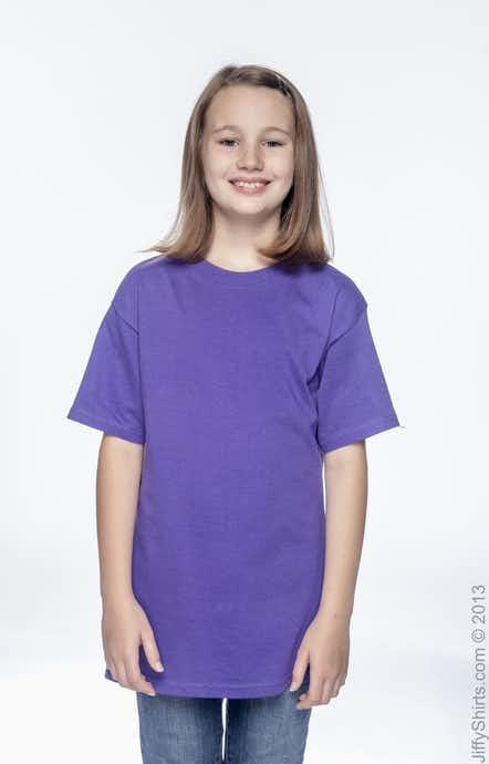 Hanes 5380 Purple