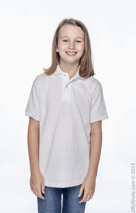 Hanes 054Y White