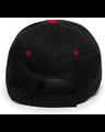 Outdoor Cap GL-845 Black / Red