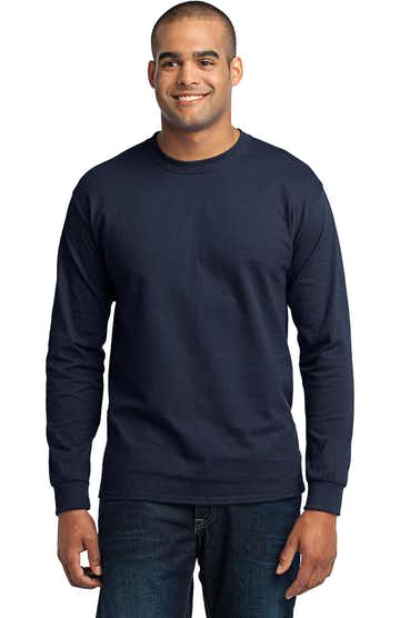 Port & Company PC55LS Navy