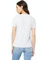 Bella + Canvas 6405 Solid White Triblend