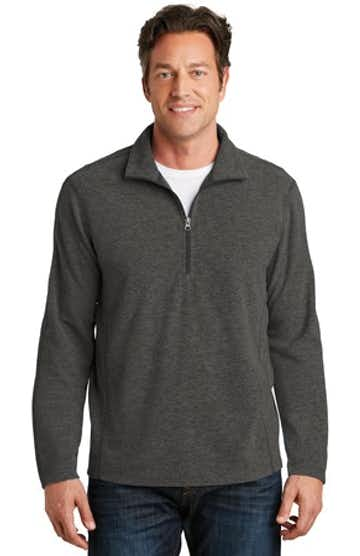 Port Authority F234 Black Charcoal Heather