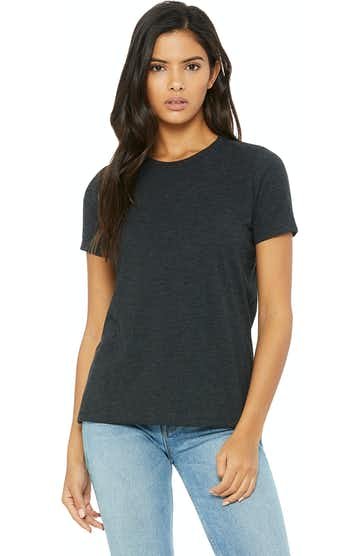 Bella + Canvas 6413 Charcoal Black Triblend