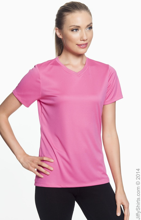 Hanes 483V Wow Pink