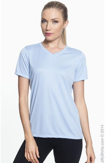 Hanes 483V Light Blue