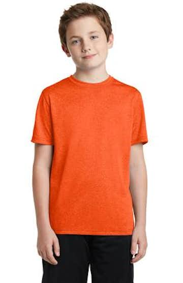 Sport-Tek YST360 Deep Orange Heather