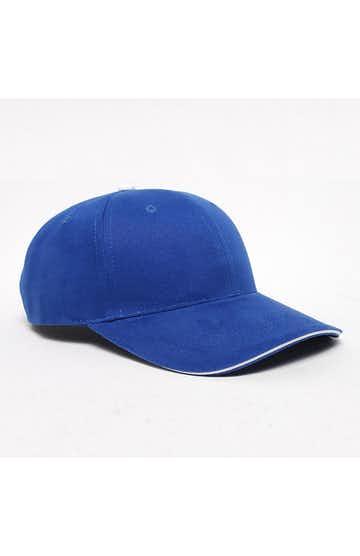 Pacific Headwear 0121PH Royal/White