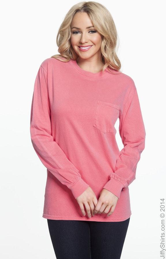 5277a1f4cb71 Comfort Colors C4410 Adult Heavyweight RS Long-Sleeve Pocket T-Shirt -  JiffyShirts.com