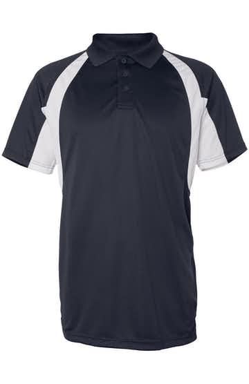 Badger 3344 Navy / White