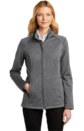 Port Authority L339 Graphite Heather