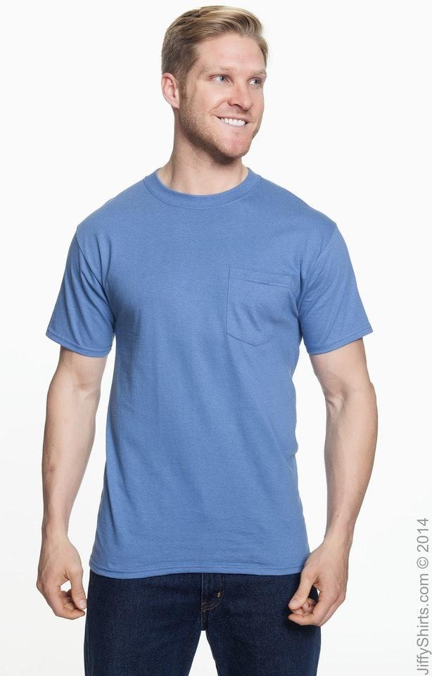 Hanes 5190P Denim Blue