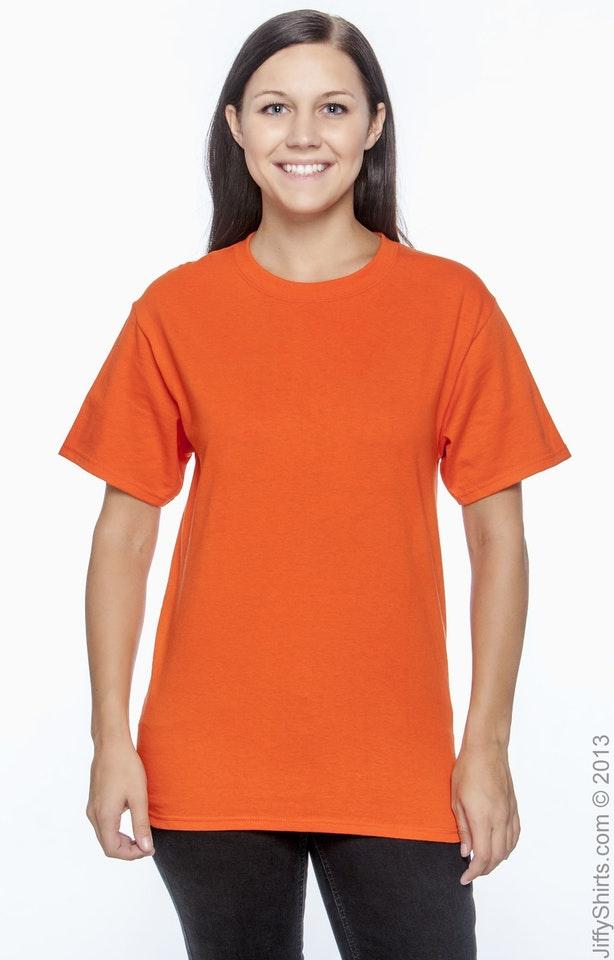 Hanes 5250T Orange