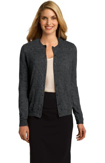 Port Authority LSW287 Charcoal Heather