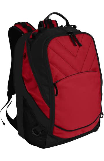 Port Authority BG100 Chili Red / Black