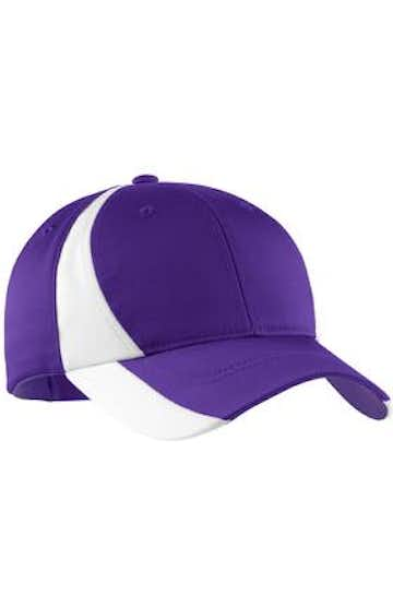 Sport-Tek STC11 Purple / White