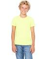 Bella + Canvas 3001Y Neon Yellow