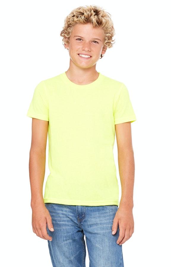Bella+Canvas 3001Y Neon Yellow