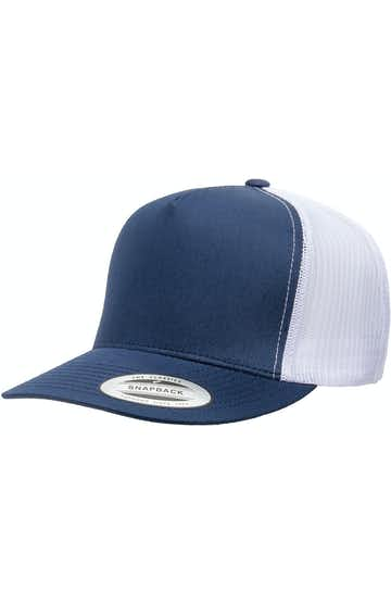 Yupoong 6006 Navy/ White