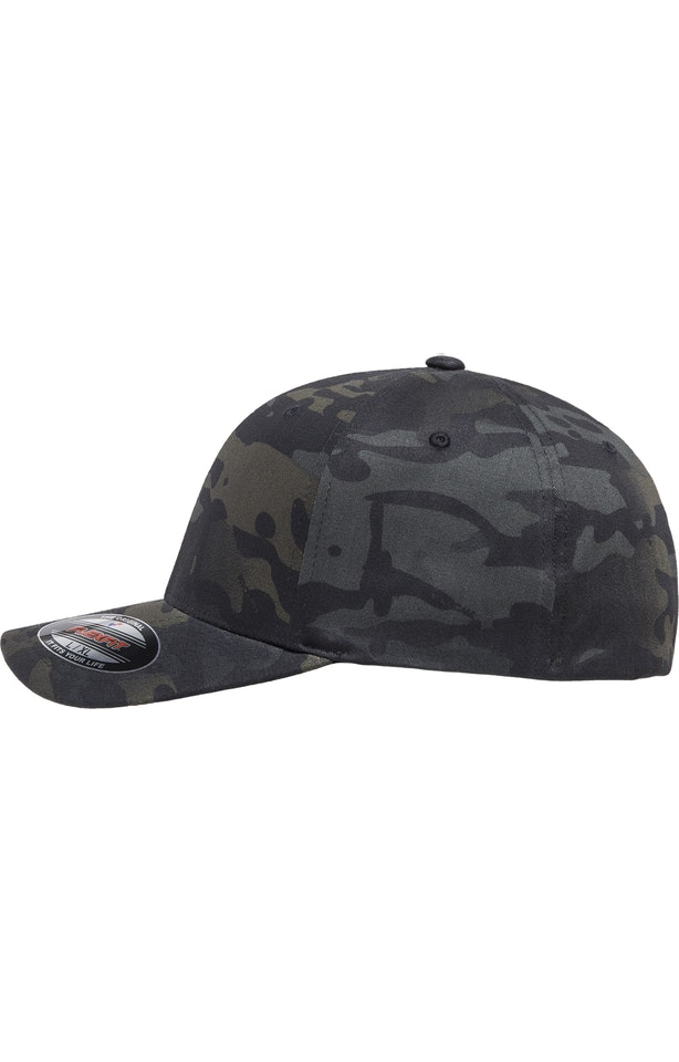 Flexfit 6277MC Black Multicam