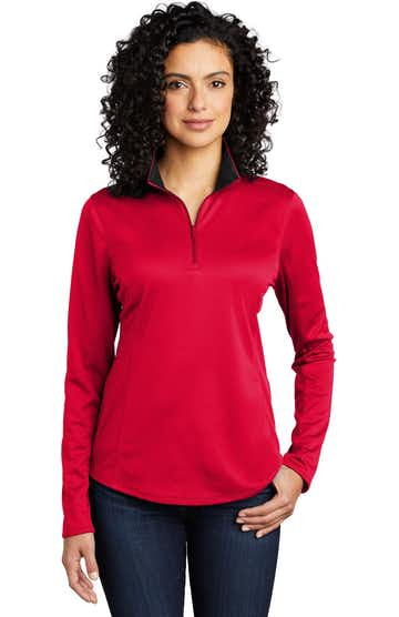 Port Authority LK584 Red / Black