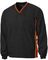Sport-Tek JST62 Black / Deep Orange