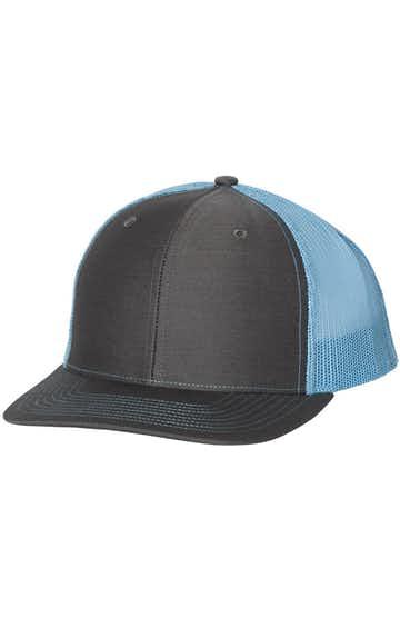 Richardson 112 Charcoal / Columbia Blue