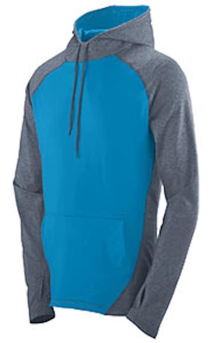 Augusta Sportswear 4762 Graphite Heather/Power Blue