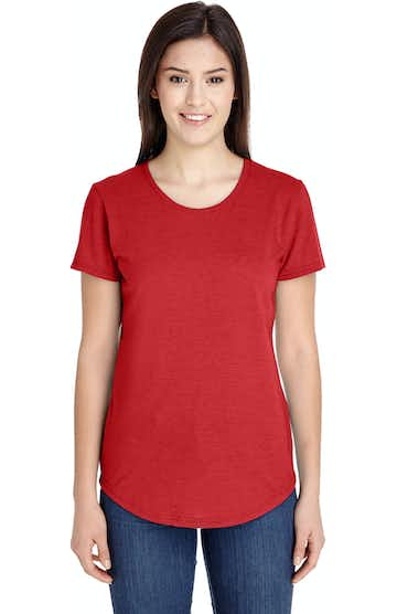 Anvil 6750L Heather Red