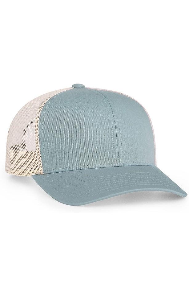 Pacific Headwear 0104PH Smoke Blue/Beige
