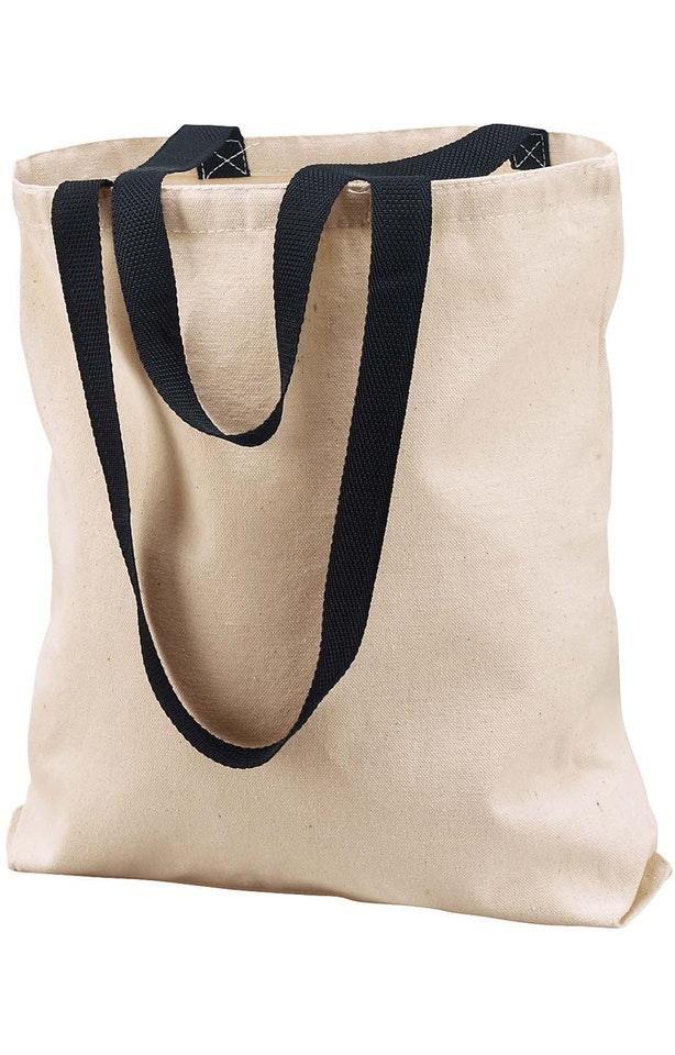 Liberty Bags 8868 Natural/Black