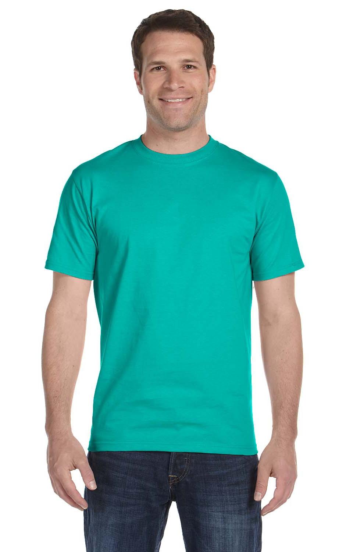 G800 S Gildan 5.6 oz Lime 50//50 T-Shirt