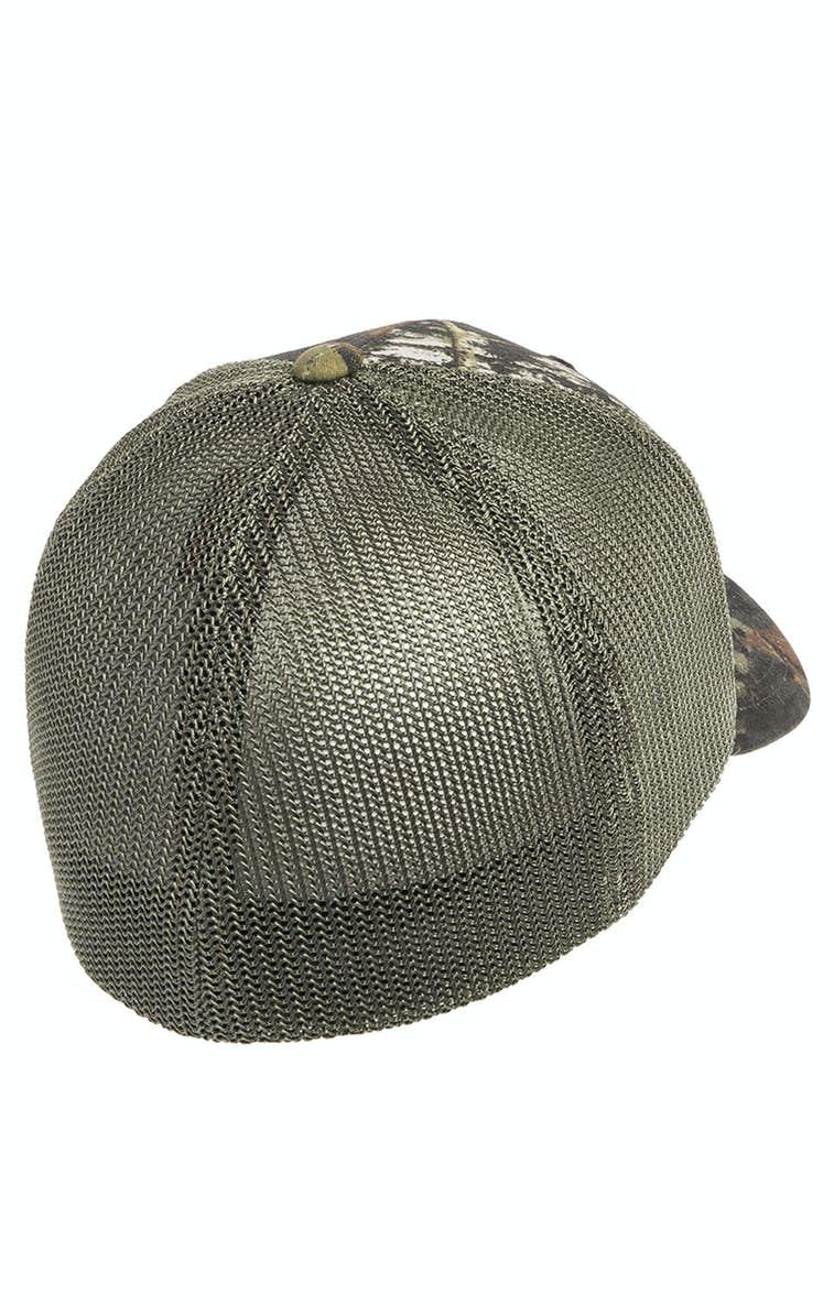 0dd19836422cb Flexfit 6911 Adult Mossy Oak Stretch Mesh Cap - JiffyShirts.com