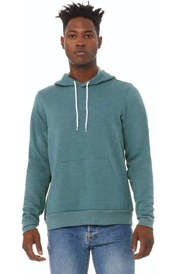 Bella + Canvas 3719 Heather Deep Teal