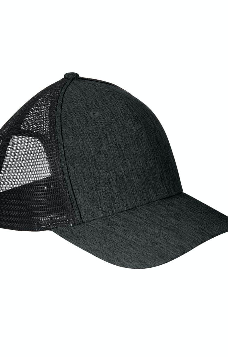a1b8bba1fe2 Big Accessories BA540 Sport Trucker Cap - JiffyShirts.com