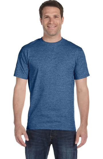 Hanes 5180 Heather Blue