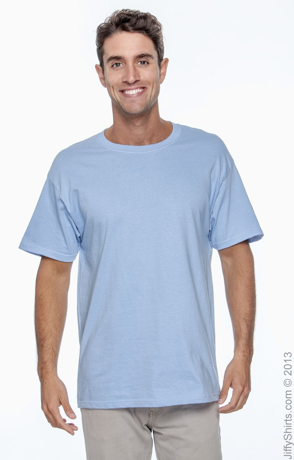 Hanes 5180 Light Blue