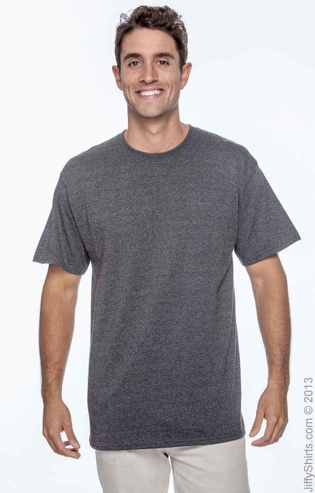 Hanes 5250T Charcoal Heather
