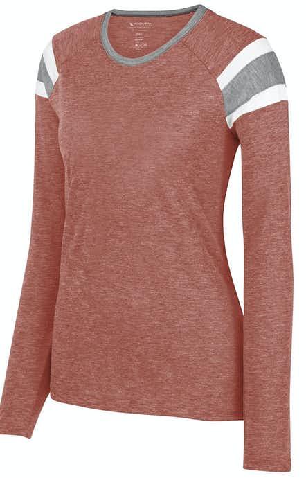 Augusta Sportswear 3012 Red/ Slate/ Wht