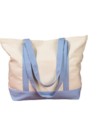 BAGedge BE004 Natural/Light Blue