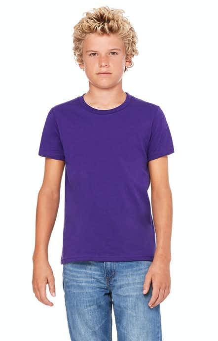 Bella+Canvas 3001Y Team Purple
