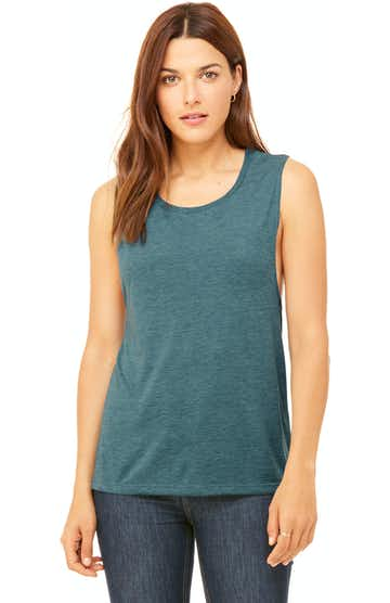 Bella + Canvas B8803 Heather Deep Teal