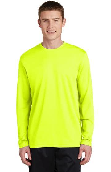 Sport-Tek ST340LS Neon Yellow