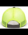 Outdoor Cap FWT-130 Charcoal / Neon Yellow